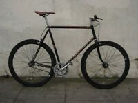 Large Size Single Speed/ Fixie by Peugeot , Large Frame, custom Build, JUST SERVICED/CHEAP PRICE!!!!