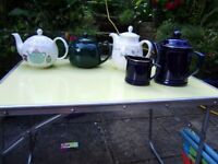 Teapot, by Royal Doulton, Strawberry Faire, NEW £10. Other teapots £3 each,in perfect condition