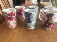 Dunoon fine bone China mugs x6 EXCELLENT CONDITION