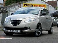 2012 REG CHRYSLER YPSILON SE 1.2cc 5 DOOR....