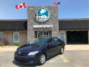 2013 Toyota Corolla LOOK CLEAN WITH LOW KM! FINANCING AVAILABLE!