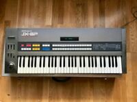 Roland JX-8P Classic 1980's Analogue Synth with custom flightcase