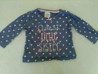 Cutest Little Sister 6-9 month t-shirt