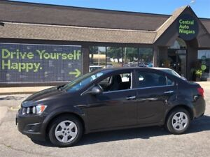 2014 Chevrolet Sonic LT / HEATED SEATS / A/C / TRACTION CNTL