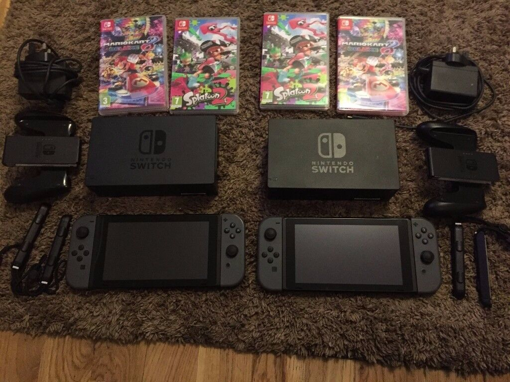 Nintendo Switch Console With Games