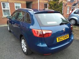 Seat Ibiza ST 1.0 ECO TSI Turbo. Excellent boot space orginally required for dog. Very economical