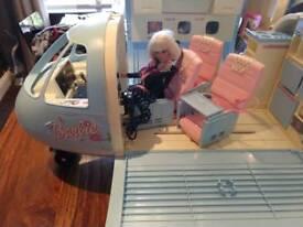 Barbie aeroplane