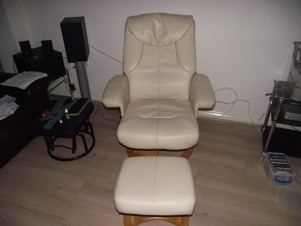 Swivel / Rec;ining / Heated & Vibrating chair