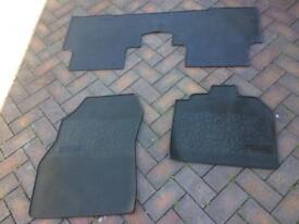 Renault scenic rubber mats set