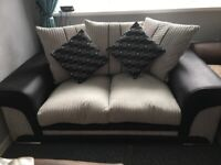 Corded sofa