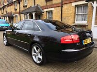 AUDI A8 SPORT 3.0 TDI QUATTRO 2009 AUTOMATIC FULL SERVIS HISTORY HPI CLEAR P/X WELCOME