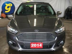 2014 Ford Fusion TITANIUM*AWD*NAVIGATION*SUN ROOF*LEATHER SEATS* Kitchener / Waterloo Kitchener Area image 5