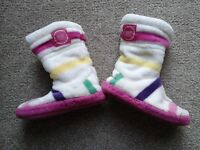 Joules Girls Slippers size 8-10