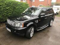 Range Rover Sport V8 Supercharged 4.2 **FULL SERVICE & MOT ON 25/09/17**