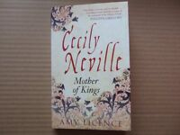 CECILY NEVILLE, MOTHER OF KINGS by Amy Licence - pb