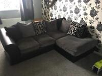 Corner & 2 seater sofa