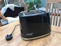 Russell Hobbs Black toaster excellent condition