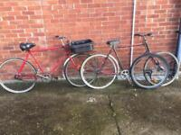 Pashley postman style delivery bicycle(s)