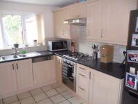 Beech laminate shaker style kitchen £150 ONO.