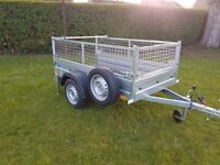 NEW Trailer with mesh 6.7 x 4 x 2,46 £650 inc vat