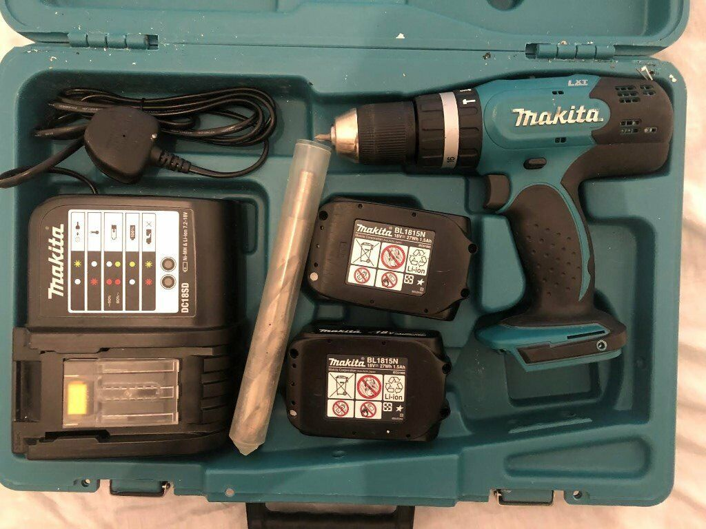 Electric Makita 18V Ion LXT Cordless Combi Power Drill - £60 | in Hackney,  London | Gumtree