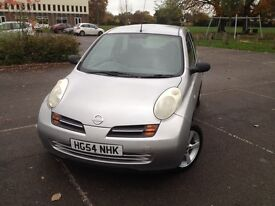 Nissan micro 1.0 patrol silver. 1 year MOT till 17/10/2017, Excellent condition, superb drives