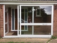 uPVC patio door and window