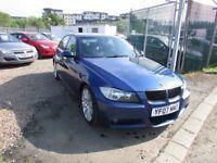 2007 BMW 320D MSPORT FULL LEATHER INTERIOR 1 YEAR MOT
