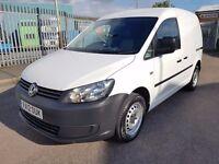 2012 12 Volkswagen Caddy 1.6 TDI BLUEMOTION WHITE CLEAN *NO VAT*