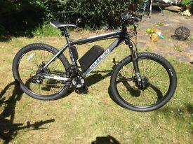 Brand New CUSTOM BUILT Carrera Vengeance ELECTRIC Mountain Bike