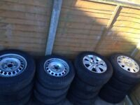 Vw transporter t5 and t6 wheels and caddy wheels
