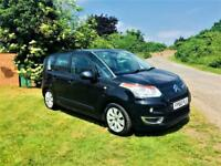 CITROEN C3 1.6 PICASSO VTR PLUS HDI, FSH, MOT JUNE 2019, LOOKS AND DRIVES SUPERB (black) 2010