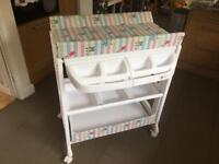 Baby Changing Unit & Baby Bath