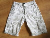 "n5.. quality mens shorts by SCHOTT w30"" vgc"