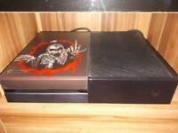 Xbox one. 500gb plus extras