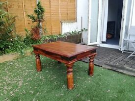 Chunky coffee table for sale