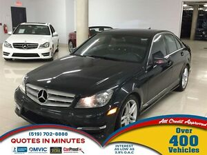 2013 Mercedes-Benz C-Class C 300 4MATIC | ROOF | NAV | HEATED SE