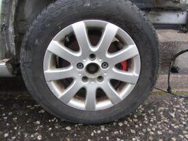 VW Golf - Set of 4 Alloy Wheels an Tyres - 195/65/15