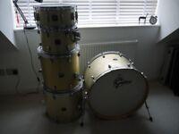 Gretsch Catalina Drum Kit. 5 Shell Pack.