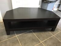 Black ikea tv stand for sale