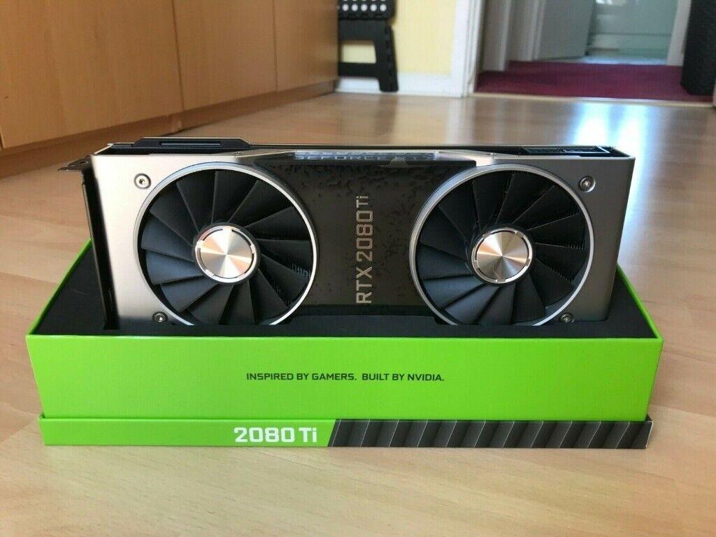 NVIDIA GeForce RTX 2080 Ti Founders Edition 11GB GDDR6 | in Hyndland,  Glasgow | Gumtree