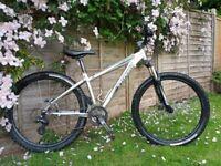 Mountain bike Specialized hardrock sport 15inch frame 26inch wheels.