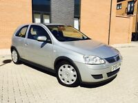 VAUXHALL CORSA 1.2 80 DESIGN 16V 55 PLATE WITH ONLY 31000 MILES GENINE LOW MILES