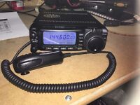 Yaesu FT-100 with separation kit