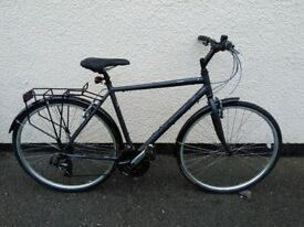 Ridgeback Rapide Speed Mens Hybrid bike - Dark Grey