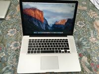 Macbook Pro 2.4 ghz Core 2 Duo 8GB RAM Late 2008/2009