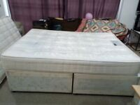 Double Orthopaedic Mattress with Bed