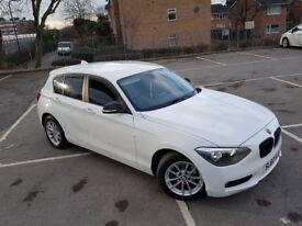 BMW 1 SERIES 116i WHITE PETROL