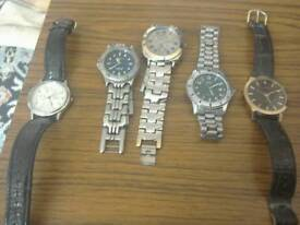 Selection of gent's watches