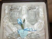 Pearl Anniversary Glasses